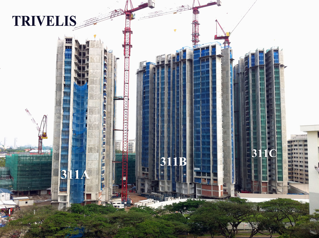 TRIVELIS - Construction Progress - TRIVELIS - Clementi DBSS